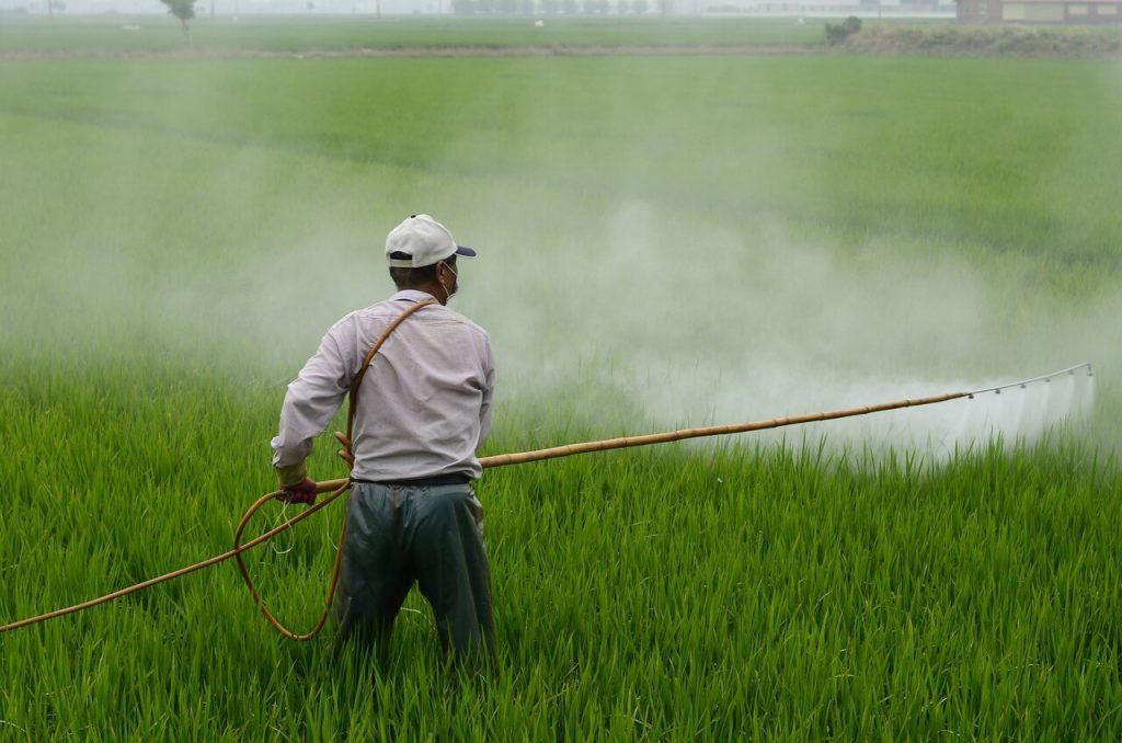 Aplicação Manual de Pesticida