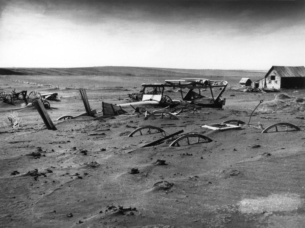 Resultados da Dust Bowl