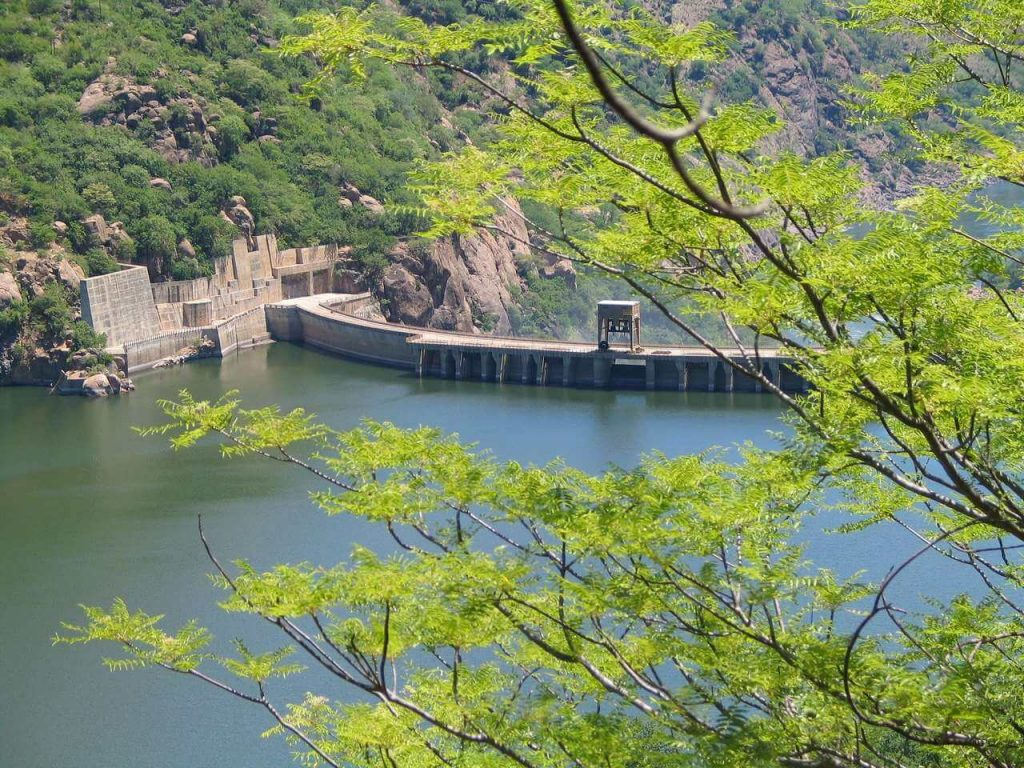 Foto de barragem