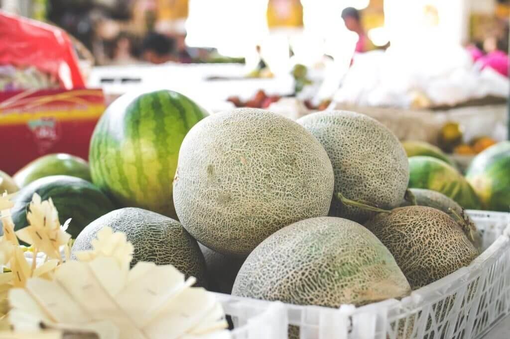 Foto com frutas de alto valor agregado
