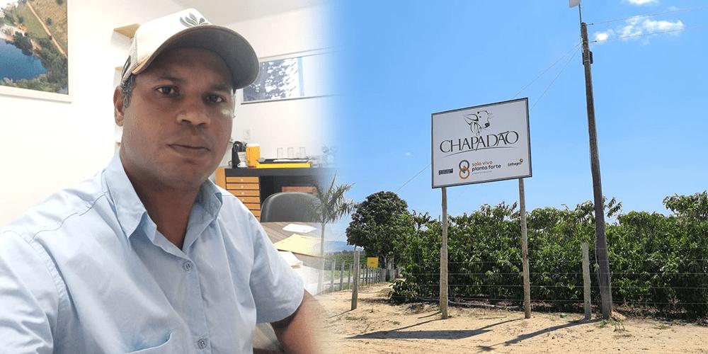 Luis Queiroz, gerente da Fazenda Chapadão