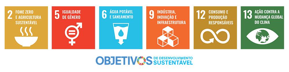 Objetivos Sustentáveis da ONU com os quais a Agrosmart tem compromisso